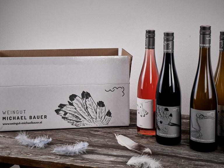 Edle Tropfen vom Weingut Michael Bauer